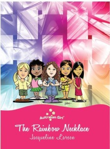 book cover-The rainbow necklace