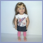 doll with leggings