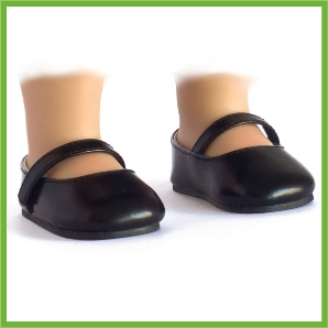 Mary Jane Shoes - Black
